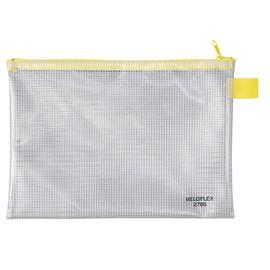 Reißverschlusstasche 250x180mm gewebeverstärkte PVC-Folie Veloflex 2705000 Produktbild