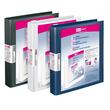 Präsentationsringbuch Velodur mit Sichttaschen A4 Überbreite 4Ringe Ringe-Ø30mm schwarz PP Veloflex 4148180 Produktbild Additional View 1 S