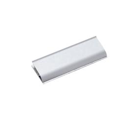 Klemmleiste 113x40mm Aluminium silbereloxiert HEBEL 62466-08 Produktbild