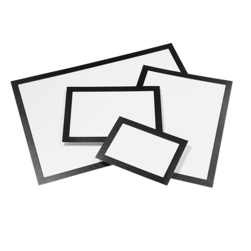 Informationsrahmen DURAFRAME A5 schwarz/transparent selbstklebend Durable 4871-01 (ST=2 STÜCK) Produktbild Additional View 2 L