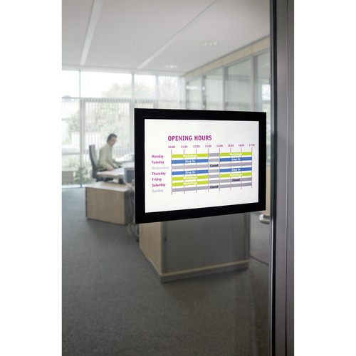 Informationsrahmen DURAFRAME A5 schwarz/transparent selbstklebend Durable 4871-01 (ST=2 STÜCK) Produktbild Additional View 5 L