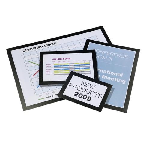 Informationsrahmen DURAFRAME A3 schwarz/transparent selbstklebend Durable 4873-01 (PACK=2 STÜCK) Produktbild Additional View 3 L