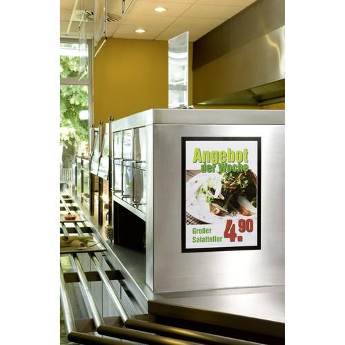 Informationsrahmen DURAFRAME A3 schwarz/transparent selbstklebend Durable 4873-01 (PACK=2 STÜCK) Produktbild Additional View 4 L