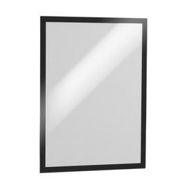 Informationsrahmen DURAFRAME A3 schwarz/transparent selbstklebend Durable 4873-01 (PACK=2 STÜCK) Produktbild