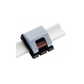Rollenclip V für Wandleisten und Presenter 33x38mm grau HEBEL 62520-84 (PACK=10 STÜCK) Produktbild