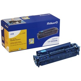 Toner Gr. 1218 (CC531A) für Color Laserjet CP2025/CM2330 2800Seiten cyan Pelikan 4207180 Produktbild
