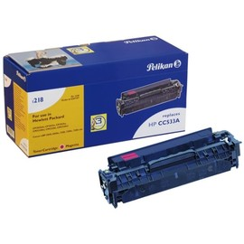 Toner Gr. 1218 (CC533A) für Color Laserjet CP2025/CM2320 2800Seiten magenta Pelikan 4207197 Produktbild