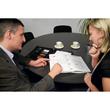 Konferenzmappe A4 ELEGANCE mit Klemmbrett schwarz Wedo 585001 Produktbild Additional View 4 S