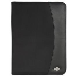 Schreibmappe elegance A4 schwarz Wedo 585401 Produktbild