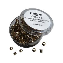 Ösen ø 5,2mm für Öszange EP-30 Regur RÖ-5,2 (SCH=250 STÜCK) Produktbild