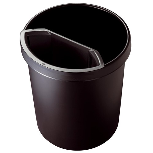 Abfalleinsatz ohne Deckel Standard 6l schwarz Helit H6106995 Produktbild