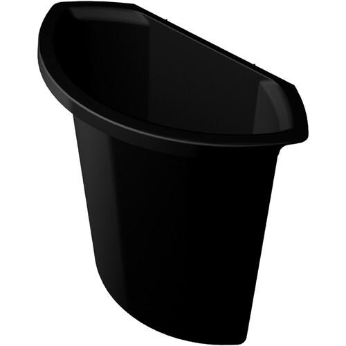 Abfalleinsatz ohne Deckel Standard 6l schwarz Helit H6106995 Produktbild Additional View 1 L