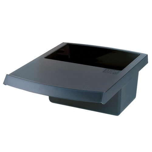 Deckel mit Abfallmulde eckig LOGO 5l schwarz HAN 1850-13 Produktbild