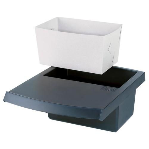 Deckel mit Abfallmulde eckig LOGO 5l schwarz HAN 1850-13 Produktbild Additional View 1 L