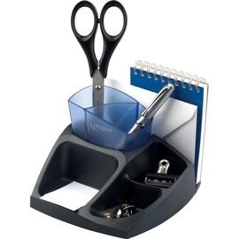 Schreibtisch-Butler Evolys Compact Office schwarz-blau Kunststoff Maped M575400 Produktbild