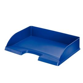 Briefkorb Plus quer für A4 350x63x245mm blau Kunststoff Leitz 5218-00-35 Produktbild