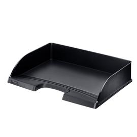 Briefkorb Plus quer für A4 350x63x245mm schwarz Kunststoff Leitz 5218-00-95 Produktbild