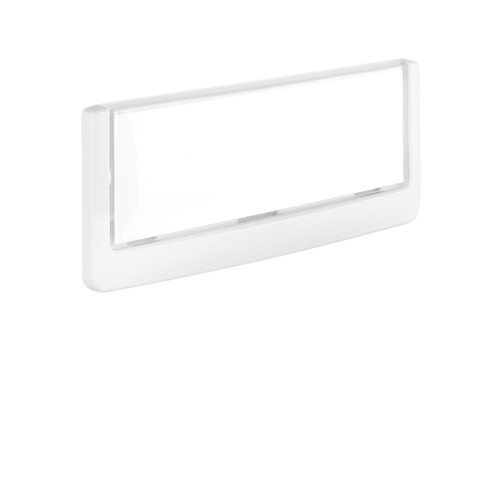 Türschild CLICK SIGN 149x52,5mm weiß kunststoff Durable 4860-02 Produktbild Additional View 2 L
