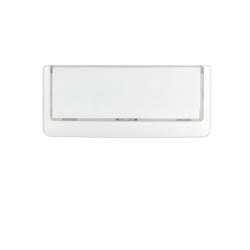 Türschild CLICK SIGN 149x52,5mm weiß kunststoff Durable 4860-02 Produktbild Additional View 3 L