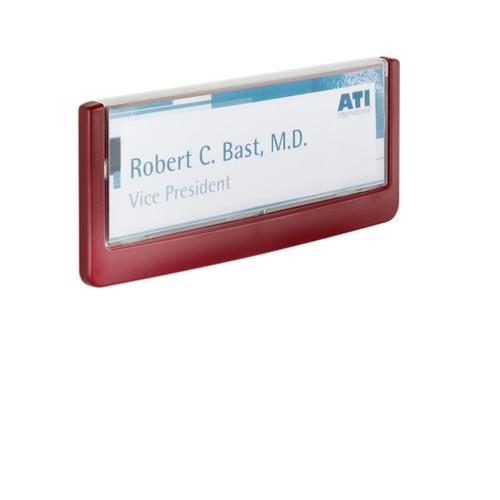 Türschild CLICK SIGN 149x52,5mm rot kunststoff Durable 4860-03 Produktbild