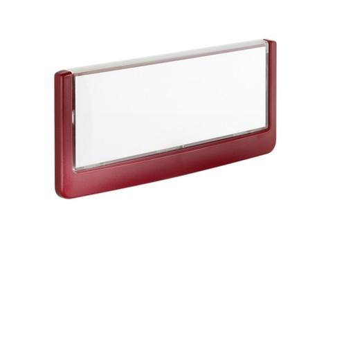Türschild CLICK SIGN 149x52,5mm rot kunststoff Durable 4860-03 Produktbild Additional View 2 L