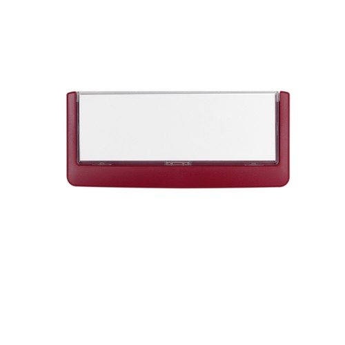 Türschild CLICK SIGN 149x52,5mm rot kunststoff Durable 4860-03 Produktbild Additional View 3 L