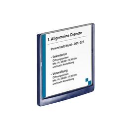 Türschild CLICK SIGN 149x148,5mm dunkelblau kunststoff Durable 4862-07 Produktbild