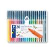 Fasermaler Triplus Color 323 1,0mm Dreikant sortiert Staedtler 323SB20 (ETUI=20 STÜCK) Produktbild Additional View 1 S