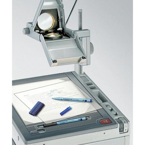 Folienstift Lumocolor correctable 305M 1,0mm mittel schwarz trocken abwischbar Staedtler 305M-9 Produktbild Additional View 3 L