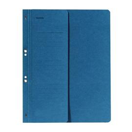 Ösenhefter 1/2 Vorderdeckel für kaufmännische Heftung blau Karton 80003809 Produktbild