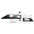 Schreibunterlage eyestyle 45x60cm schwarz/weiß Sigel SA106 Produktbild Additional View 3 S