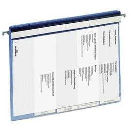 Personalhefter mit Sichttasche und Hängeschiene A4 blau Durable 2555-06 Produktbild