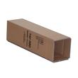 Versandkarton braun für 1 Flasche 410 x 95 x 110mm Famulus 816601 Produktbild