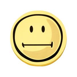 Symbolkarten Smile Neutral ø 10cm gelb Magnetoplan 1111563 (PACK=100 STÜCK) Produktbild