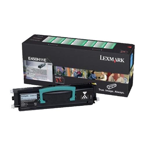 Toner für Optra E350/E352 9000Seiten schwarz Lexmark E352H11E Produktbild Front View L