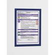 Informationsrahmen DURAFRAME A4 dunkelblau/transparent selbstklebend Durable 4872-07 (PACK=2 STÜCK) Produktbild