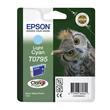Tintenpatrone T0795 für Epson Stylus Photo 1400/P50/PX650 11ml cyan hell Epson T079540 Produktbild