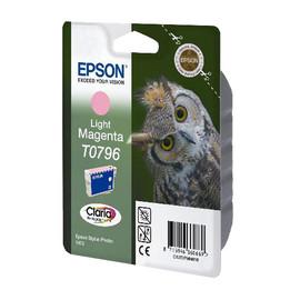 Tintenpatrone T0796 für Epson Stylus Photo 1400/P50/PX650 11ml magenta hell Epson T079640 Produktbild
