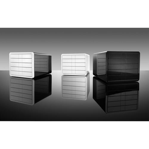 Schubladenbox iBox Designbox 5 Schübe 295x247x355mm weiß Kunststoff HAN 1551-12 Produktbild Additional View 4 L