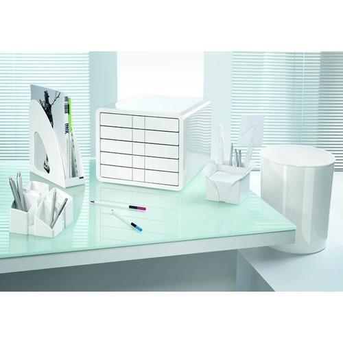 Schubladenbox iBox Designbox 5 Schübe 295x247x355mm weiß Kunststoff HAN 1551-12 Produktbild Additional View 5 L