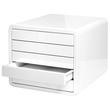Schubladenbox iBox Designbox 5 Schübe 295x247x355mm weiß Kunststoff HAN 1551-12 Produktbild Additional View 2 S