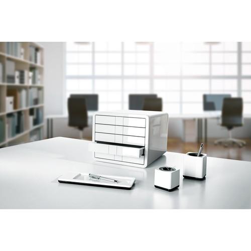 Schubladenbox iBox Designbox 5 Schübe 295x247x355mm weiß Kunststoff HAN 1551-12 Produktbild Additional View 3 L