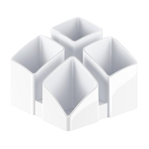 Köcher Scala 125x125x100mm weiß Kunststoff HAN 17450-12 Produktbild