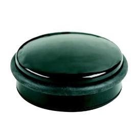 Türstopper flach Höhe 4cm/Durchmesser 10cm schwarz Alco 2851 Produktbild