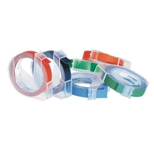 Prägeband 3D 9mmx3m glänzend grün Plastik Dymo 520105 Produktbild Additional View 1 L
