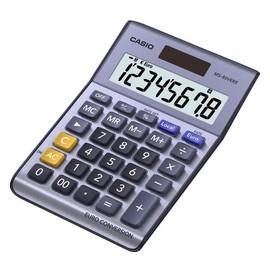 Tischrechner 8-stelliges LC-Display 30,7x103x145mm Solar-/Batteriebetrieb Casio MS-80 VERII Produktbild