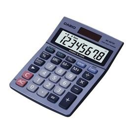 Tischrechner 8-stelliges LC-Display 30,7x103x145mm Solar-/Batteriebetrieb Casio MS-88 TER Produktbild