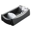 Visitenkartenbox Vip-Set 120x245x80mm für 500Karten schwarz HAN 2000-13 Produktbild Additional View 1 S