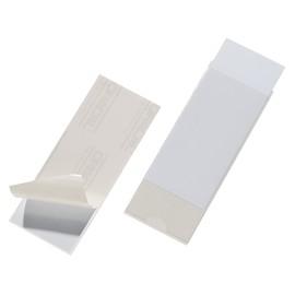 Selbstklebetaschen Pocketfix 58x150mm transparent Durable 8075-19 (PACK=10 STÜCK) Produktbild