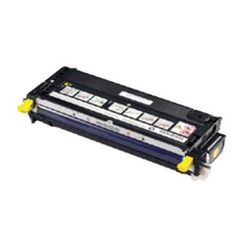 Toner DLN556 für 3110CN/3115CN 8000Seiten yellow Dell 593-10173 Produktbild Front View L